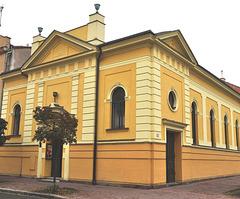 Evangelia preĝejo en Pardubice, kies fondinto estis František Hoblík