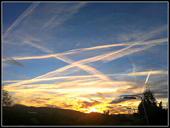 Caminos en el cielo.
