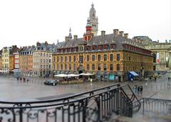 Rainy day - Place du General de Gaulle.