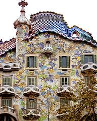 Barcellona : Casa Batlló - Gaudi -