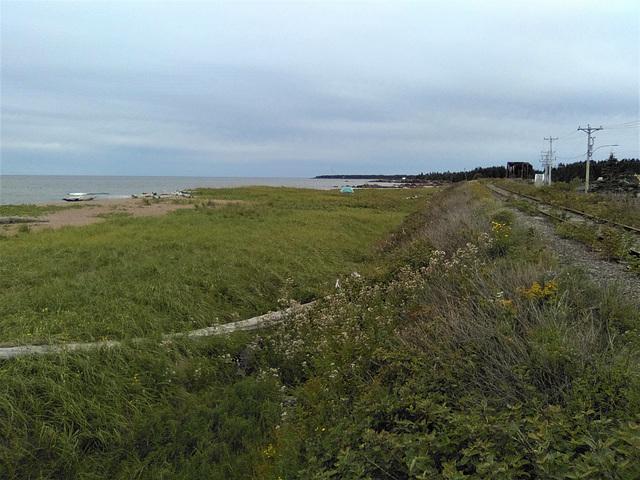 Mer et chemin de fer / Sea and railroad