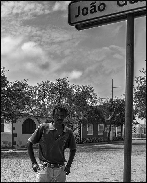 A estrada para João Galego