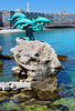 Arrivo a Rodi - i delfini, le mura, la moskea - (622)