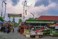 Sembung village gate