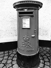 EIIR pillar box.