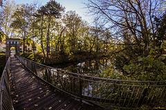 HFF - auf der Rosentalbrücke in Braunschweig