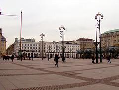 Hamburger Rathausmarkt (2x PiP)