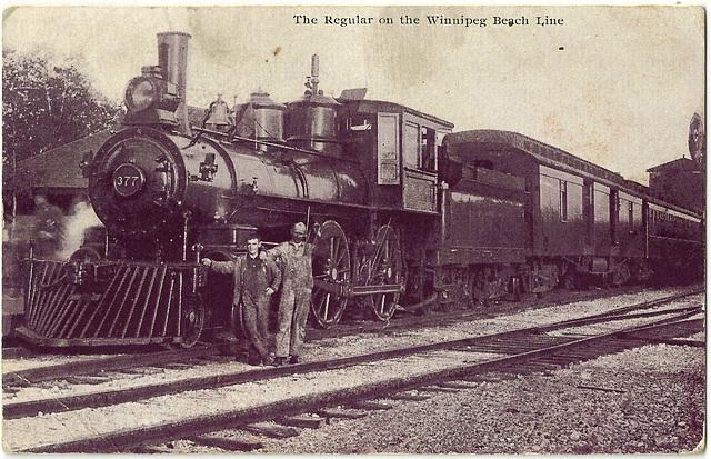 WB0075 WPG BEACH - THE REGULAR (LOCOMOTIVE)