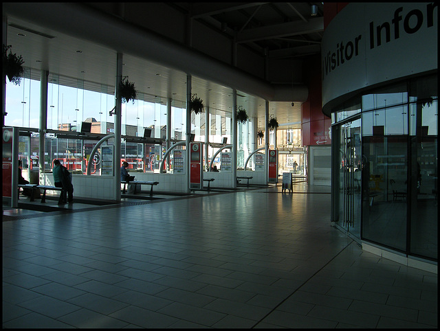 Warrington Bus Station