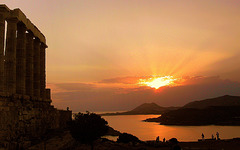 Voir le coucher de soleil .....