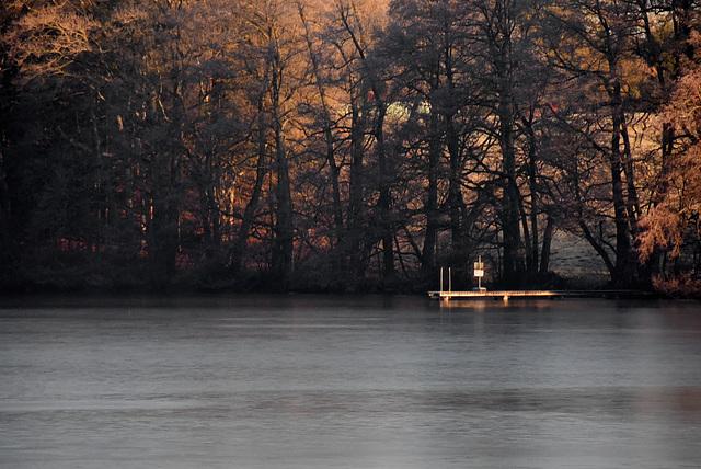 Morgens, am Langbürgener See