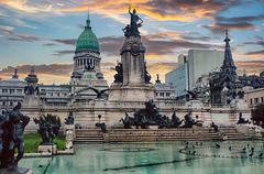 Buenos Aires - Plaza del Congreso