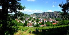 DE - Bad Kreuznach - View of Ebernburg and Rotenfels rock