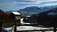 Blick von Bayern nach Tirol