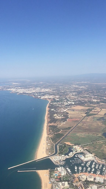 Marina de Vilamora and onward to Olhos de Água and Albufeira