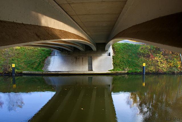 Grabow, unter der Elde-Brücke