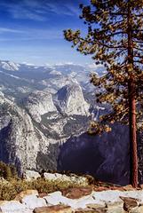 Glacier Point Vista (090°)