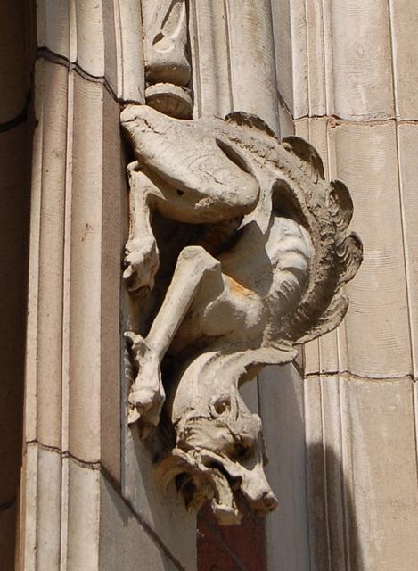 Terracotta Dragon Stop Window Surround, Former Ocean Assurance Building, Waterloo St, Birmingham