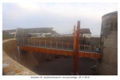 Access bridge - Martello 74 - from west - 29 11 2018