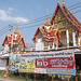 Temple et affiche