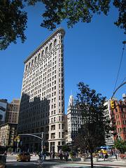 Flatiron building, NY