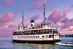 Toronto - Island Ferry - 1986