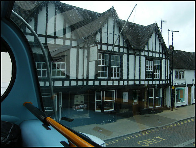 Rother Street gables
