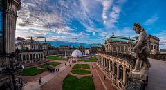 Der Zwinger in Dresden - HFF (330°)