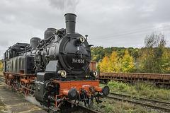 46 - Umsetzen im Bahnhof Schleusingen