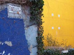 Parkplatz Blau