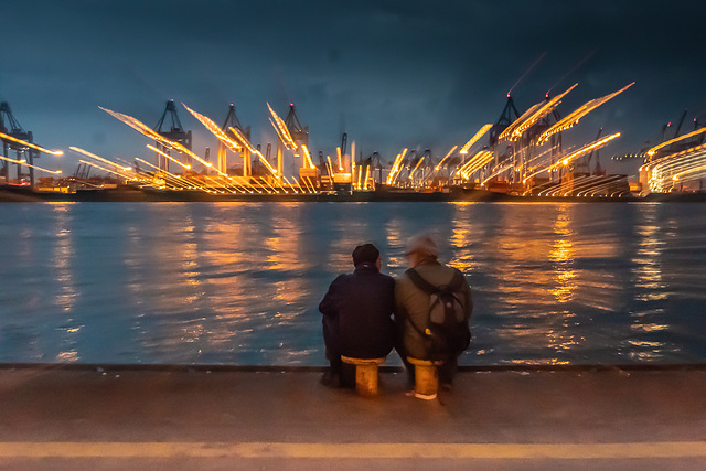 Hamburg's Port Welcomes Two Ipers ;-)  (180°)