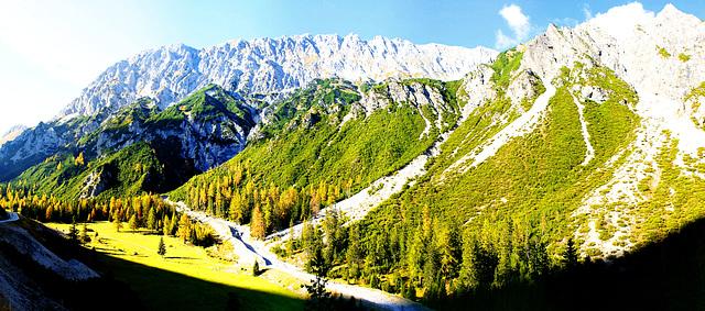 Herbst in den Bergen. ©UdoSm