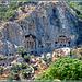 Antalya : I templi di Myra 1 - un'antica città aggrappata alla roccia