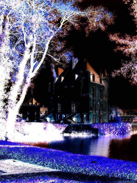 Le château de la Reine de la Nuit.