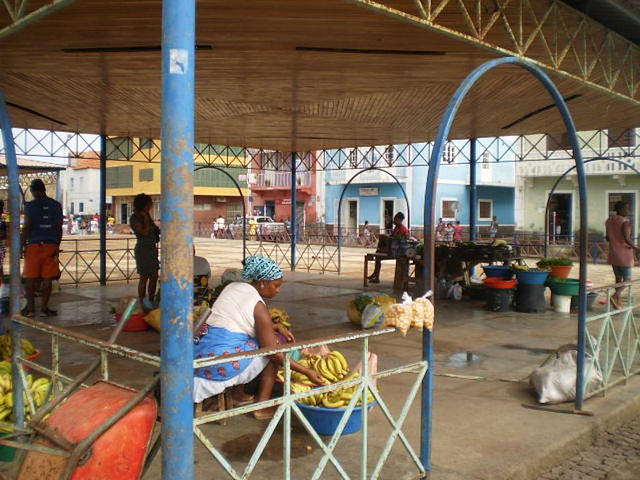 Fruits and vegetables market.