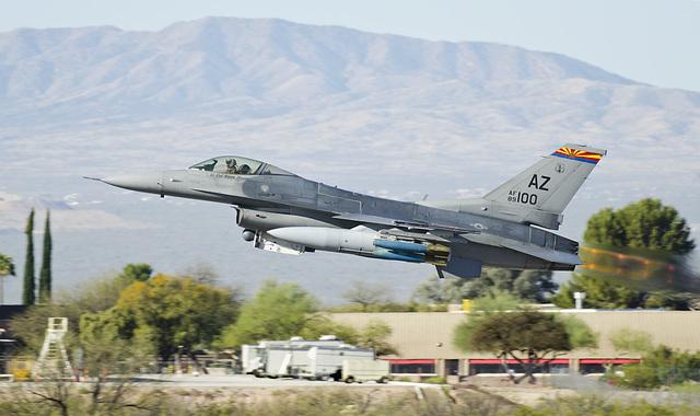 General Dynamics F-16C Fighting Falcon 89-2100