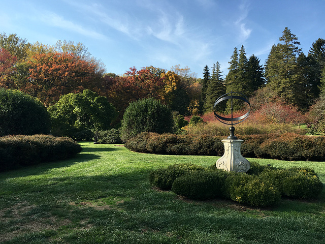The Sundial Garden at Winterthur
