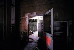 control room doorway
