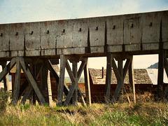 Old aqueduct, Henley, Oregon