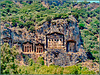 Antalya : I templi di Myra 2 - una necropoli in periodo bizantino - una città ricavata nella roccia