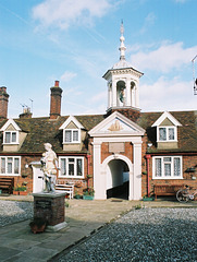 Fishermen's Almshouses, Church Plain, Great Yarmouth, Norfolk