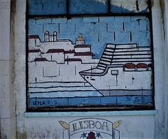 Street art by Leyla.
