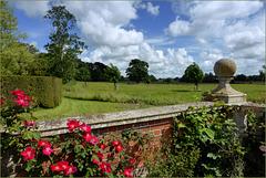 Belvedere from Godinton Garden...
