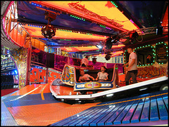 whirling on the waltzer