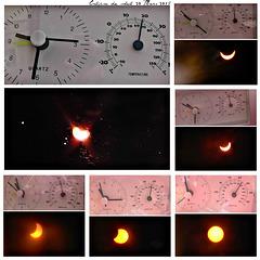 éclipse partielle de soleil du 20 Mars 2015