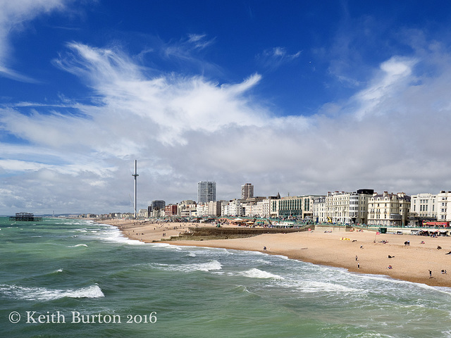 View from Brighton Pier