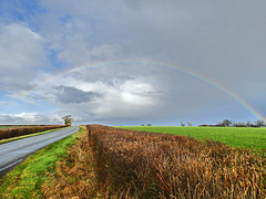Rainbow over Somerset.