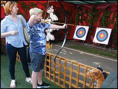 fairground target practice