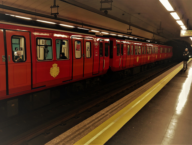 100 years of the Madrid Metro. Almost (but not quite) platform 9 3/4!