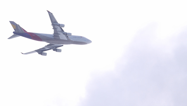 Asiana Cargo Boeing 747-400